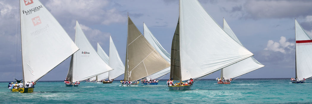 Easter Monday sail boat race.